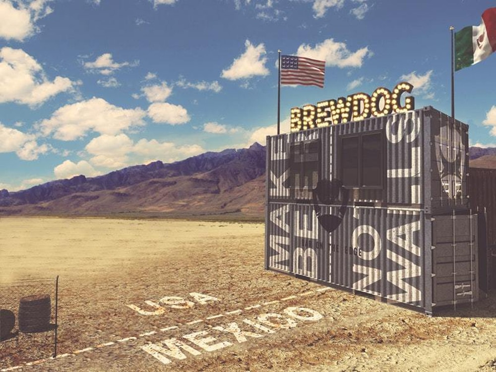 BrewDog plans bar straddling US Mexico border