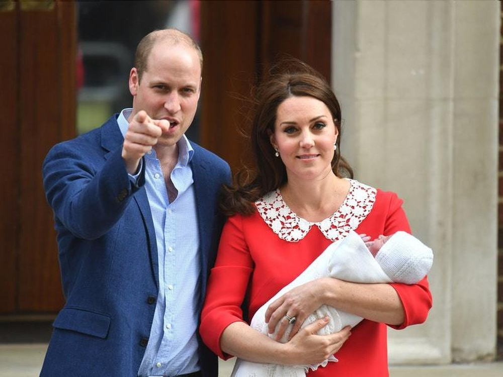 Britain's new prince is named Louis Arthur Charles
