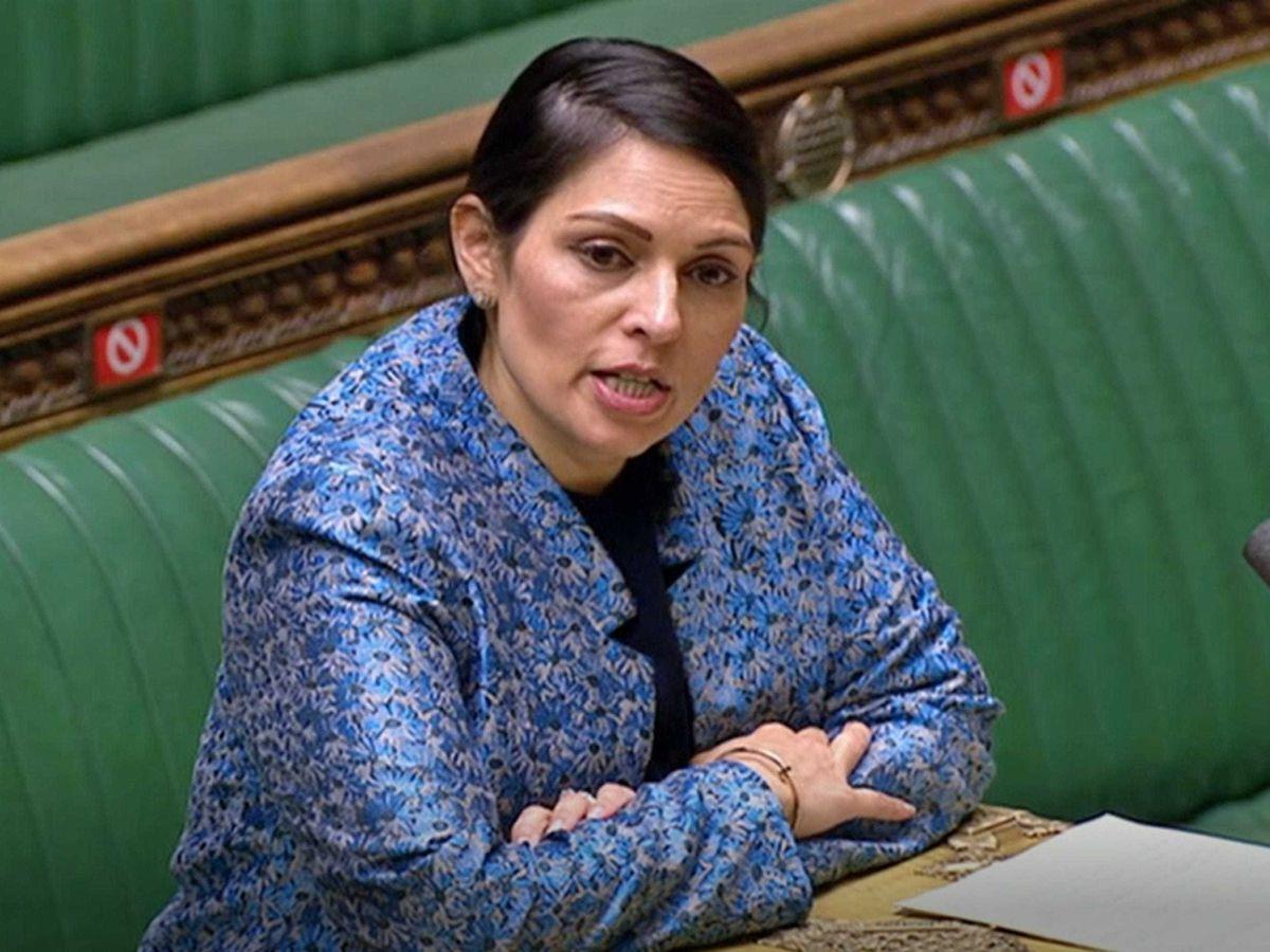 Priti Patel in the Commons