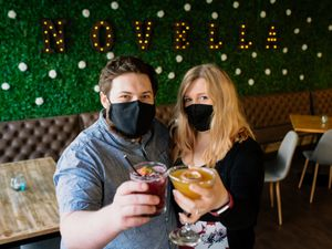 Matt Lorenz and fiancée Marie Ryley have opened Novella Craft and Cocktails in Newport, Shropshire