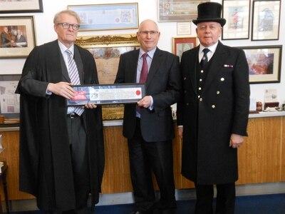 Bridgnorth man awarded Freedom of the City of London