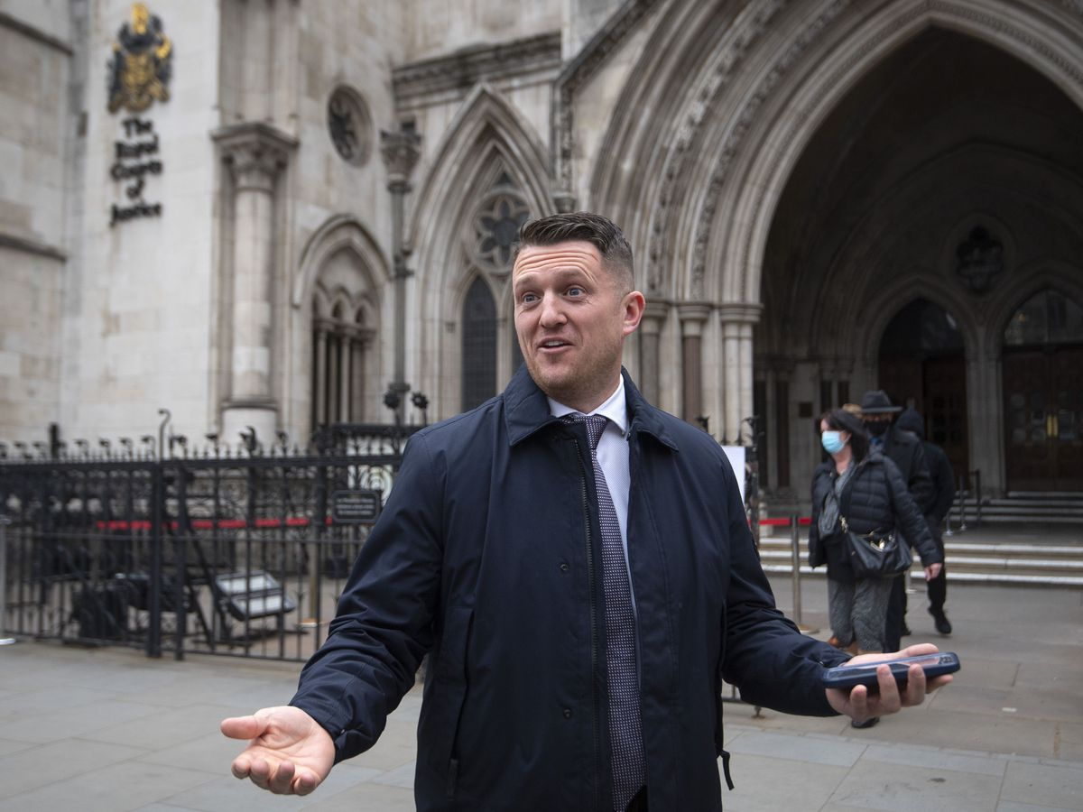 Tommy Robinson court case