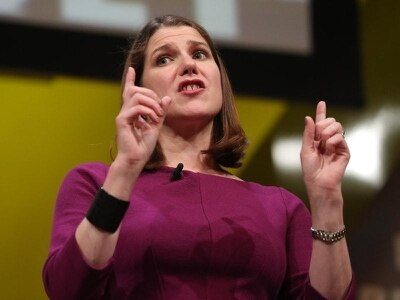 Swinson: No-deal Brexit like burning your own house down