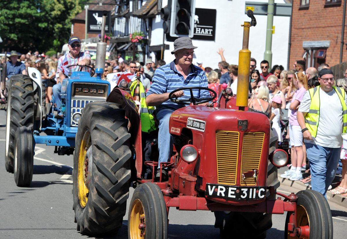 Scenes from this year's Shifnal Carnival