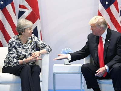 Trump and May to meet for talks in Davos