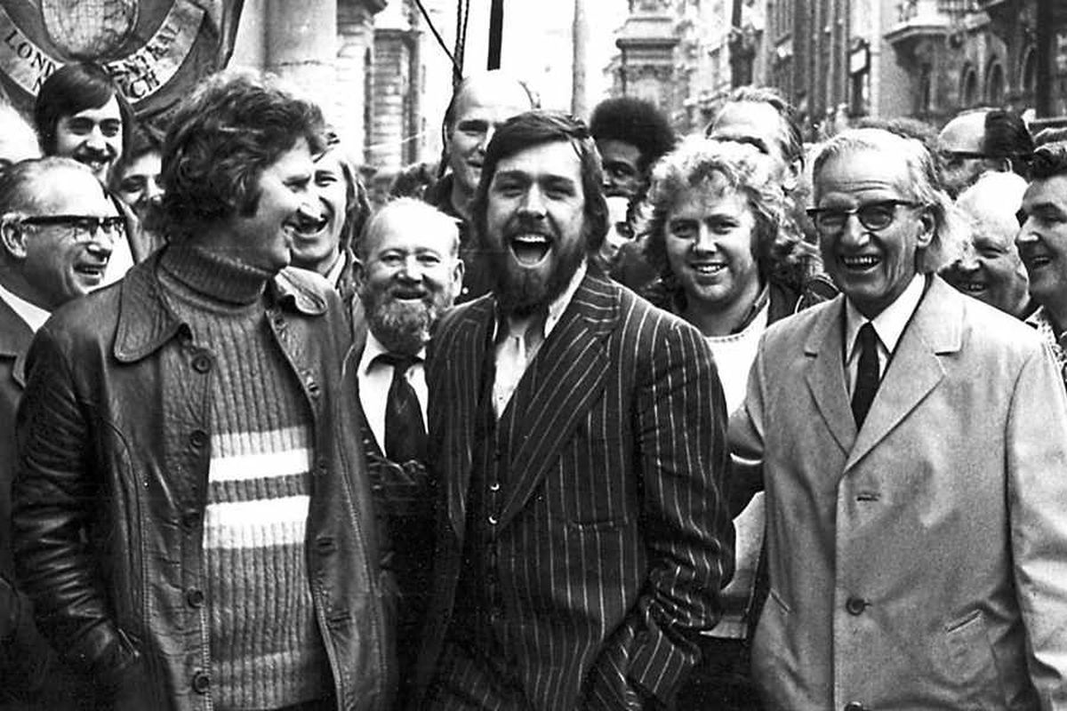 A younger Ricky Tomlinson