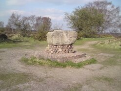 The Cannock Chase rock that rolled