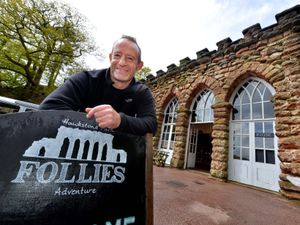Operations manager Howard Fox at Hawkstone Park and Follies