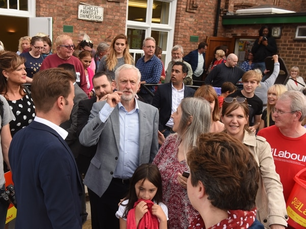 Jeremy Corbyn 'inspired' on return to Shropshire for two-day visit