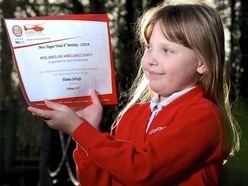 Teigan, seven, gives up birthday gifts for charity cash two years in a row