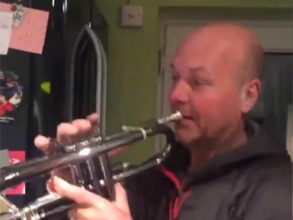K-pop fans make dad go viral after he plays trumpet to BTS song