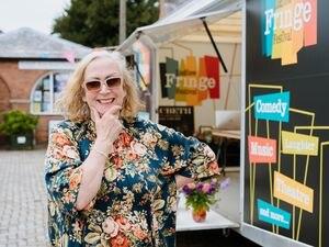 Ludlow Fringe Festival director Anita Bigsby