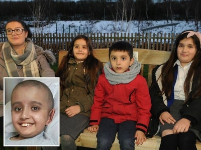 Memorial bench unveiled in memory of Telford pupil Khaleel - with video
