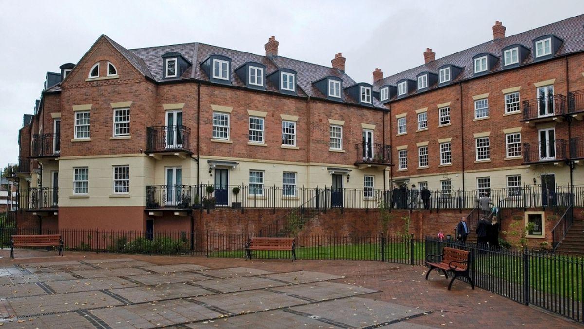 St Mary's House at Benbow Quay, Shrewsbury