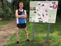 Phill's 50-mile run around Telford for military cause