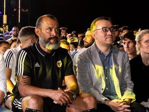 Head coach Nuno Espirito Santo and executive chairman Jeff Shi have put Wolves on a steep upward trajectory in the last two-and-a-half years (AMA)