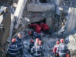 Turkish rescuers drill into rubble in search for quake victims