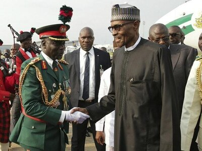 Nigeria's ailing president returns after three months away