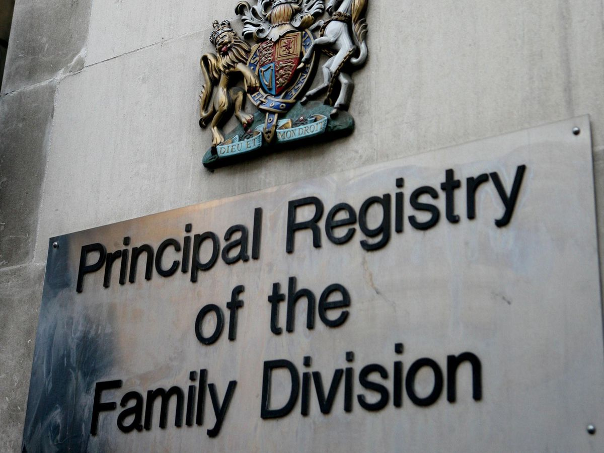 Family Division of the High Court