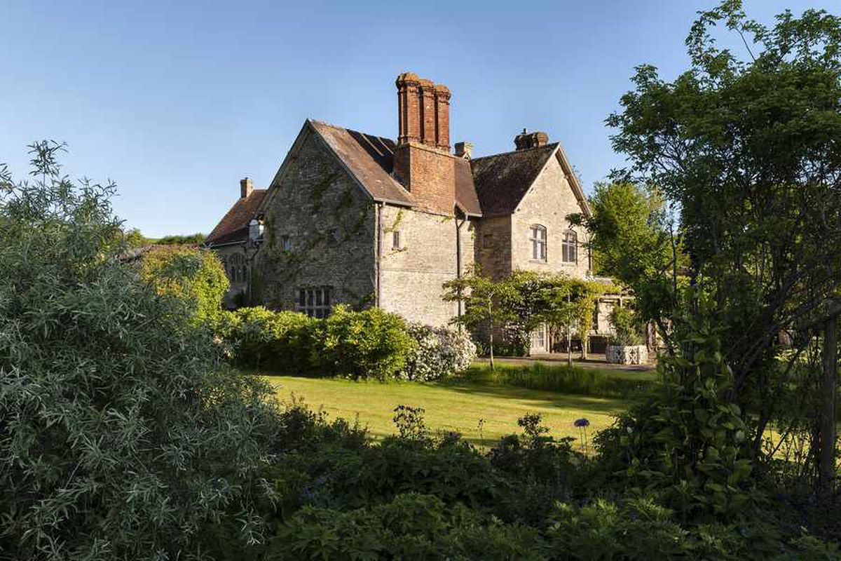 Wigmore Abbey and its gardens has been extensively renovated by Mr Challis and his wife Carol