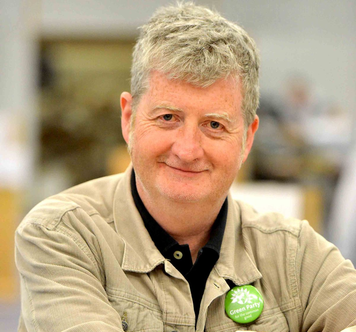 Green Party councillor Julian Dean is standing for re-election
