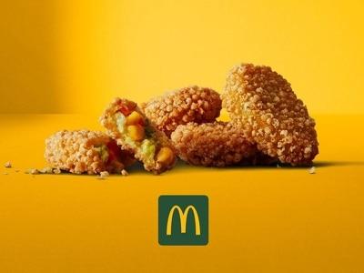 McDonald's launches vegetarian nuggets