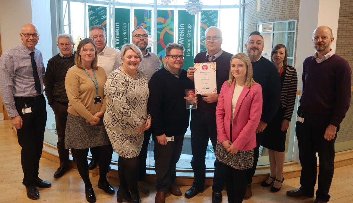 Wrekin Housing Group's development team