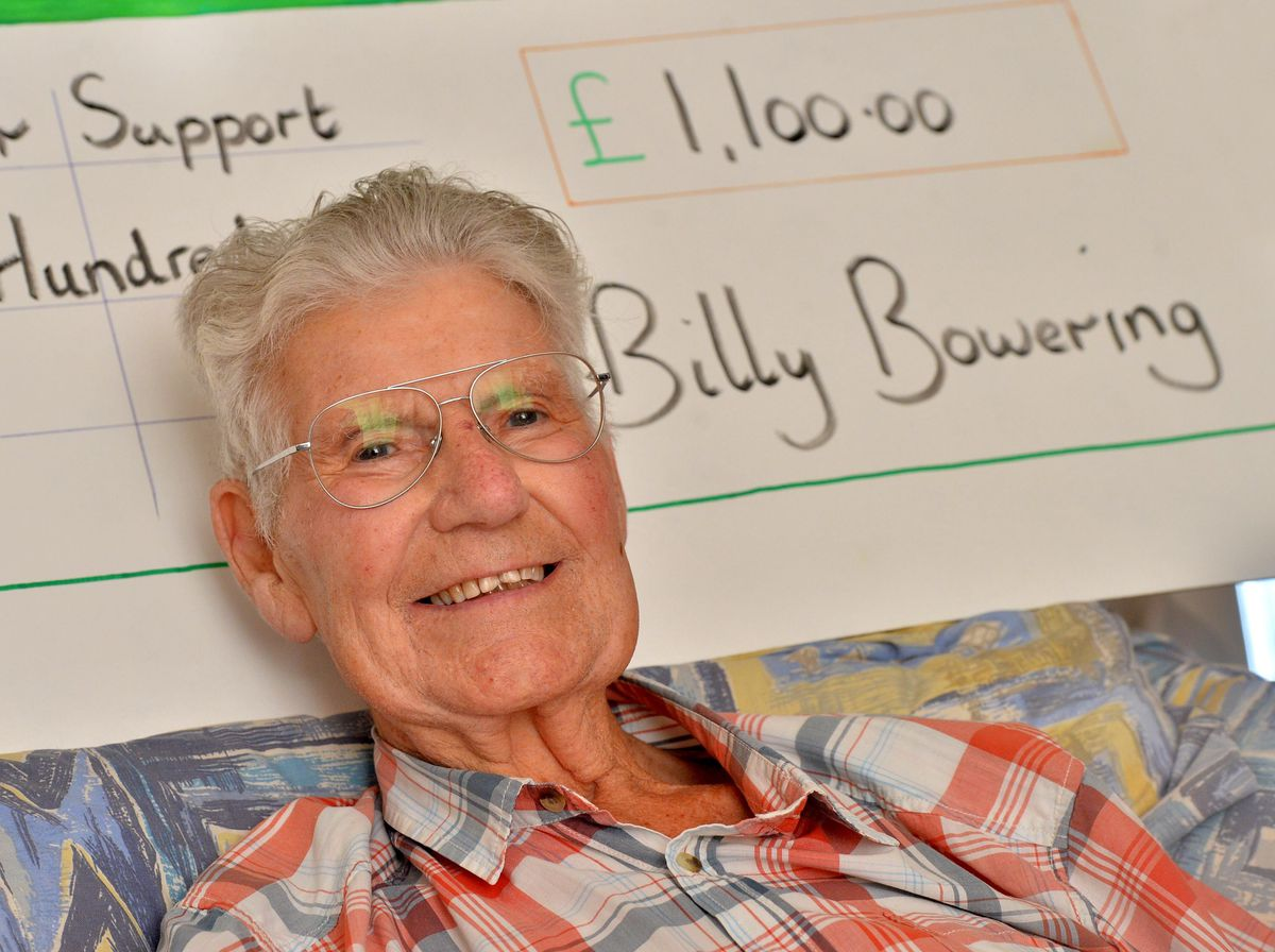 Bill Bowering raised money for MacMillan while being terminally ill with cancer himself