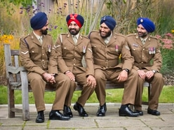 Telford soldiers help organise celebration of Sikh battle - with pictures