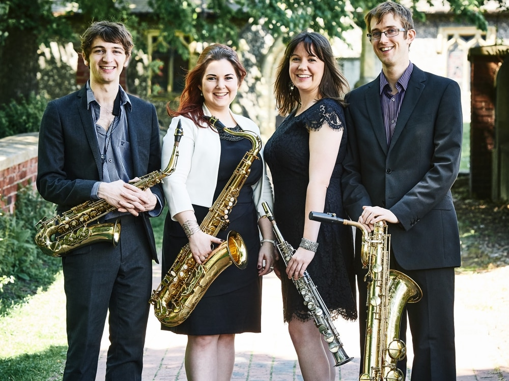 Saxophone quartet to thrill audience in Market Drayton