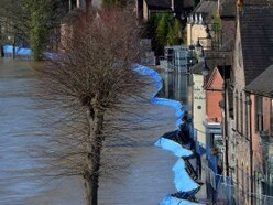 Permanent flood barriers for Ironbridge to be reviewed – but officials say current system is 'best long-term solution'