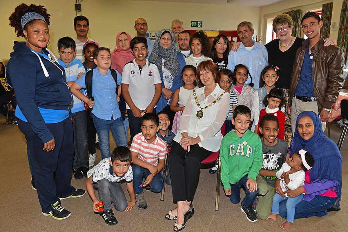 Six Syrian families re-settled in Shropshire, with more on the way