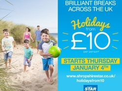 Our £10 holidays offer is back!