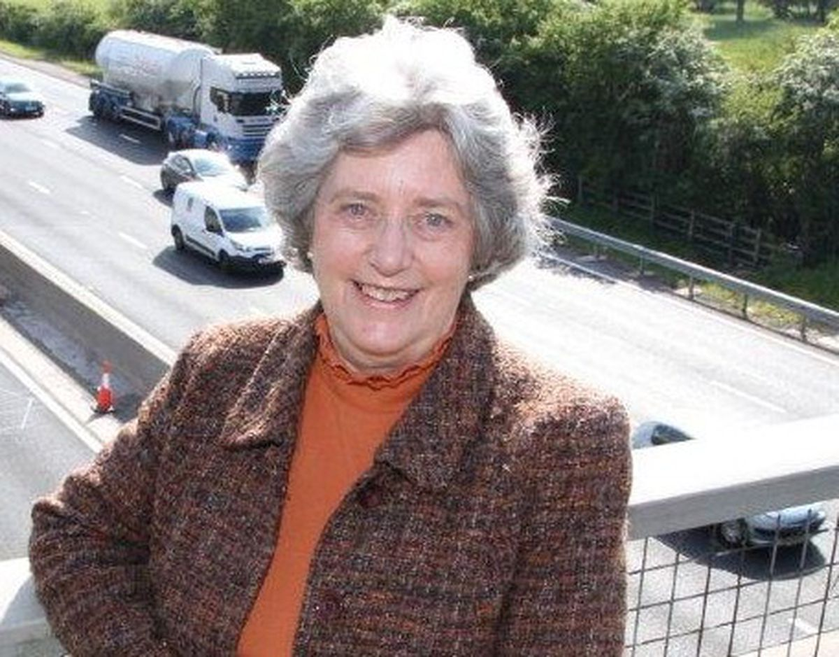 Liberal Democrat candidate Margaret Rowley