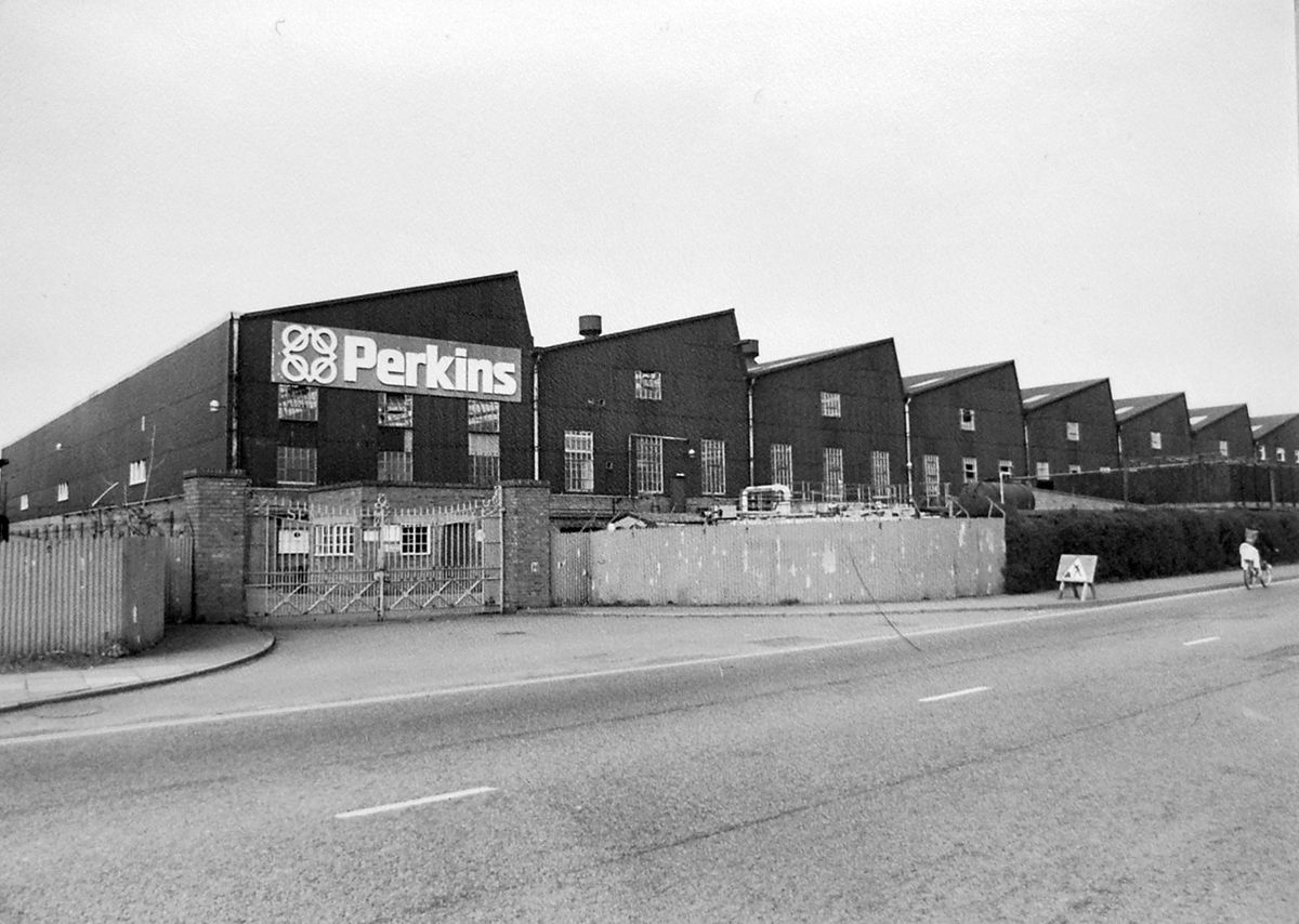 Check this out – workplace memories are made of this, as this is the Perkins factory in Shrewsbury as seen in an old Shrewsbury Chronicle picture dating from March 1980. It was destined to become the site of a Morrisons supermarket.