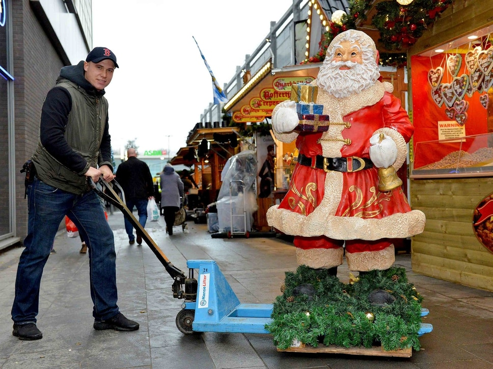 European Christmas market launches in Telford - with pictures