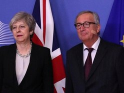 May and Juncker hail 'constructive' Brexit talks