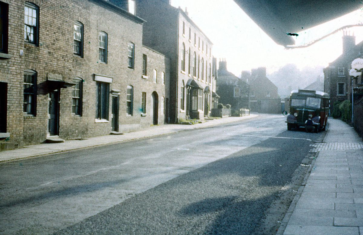 An old view of Upper Brook Street from John Powell