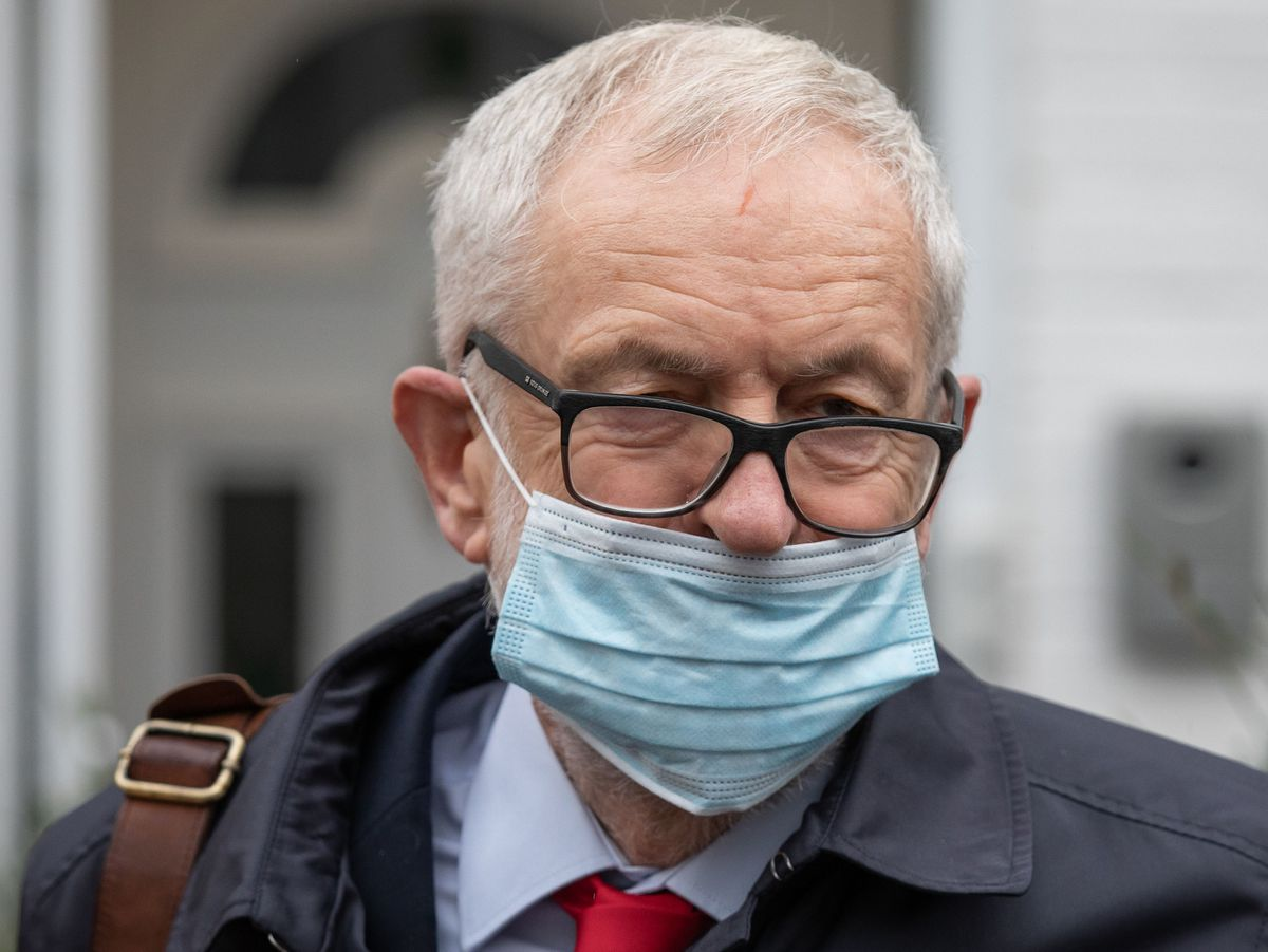 Former Labour leader Jeremy Corbyn has been suspended by the Labour Party