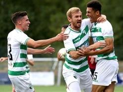 The New Saints 4-0 Shkendija - Report and pictures