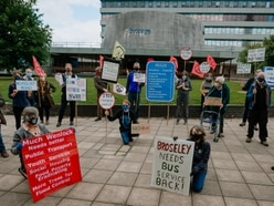 Climate change protest held against Shrewsbury relief road plans