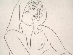 Etching by Matisse up for auction