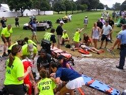 Golf spectators injured in lightning strike released from hospital