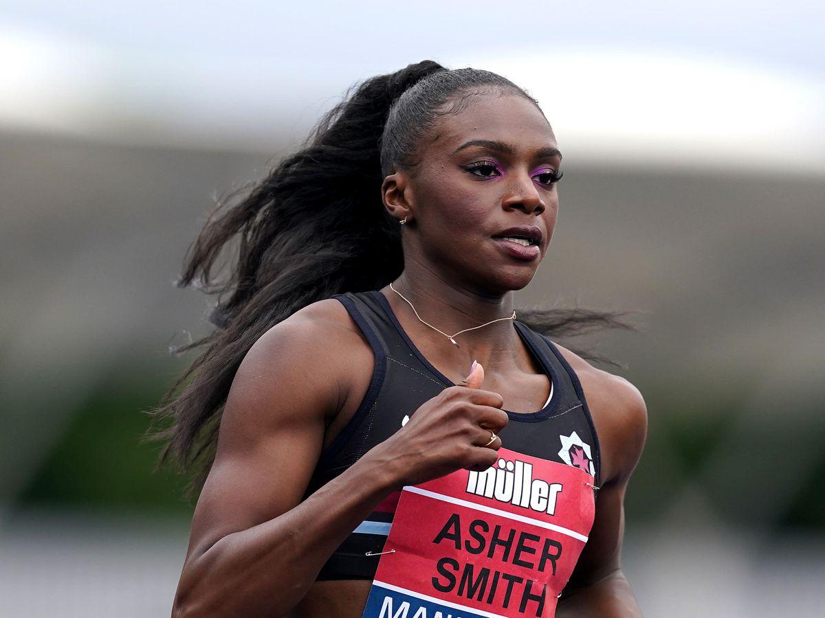 Dina Asher-Smith has welcomed the IOC's U-turn