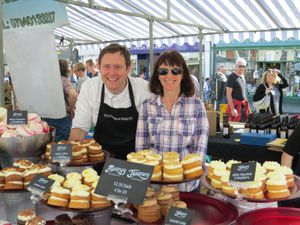 Flower & White speciality cake makers who were one of the first traders to sign up for Newport Food Frenzy 2017