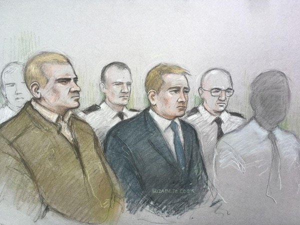 Soldier had Hitler stickers, guns, knives and CS gas, jury told