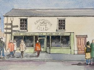 An artist's impression of how the community hub could look.