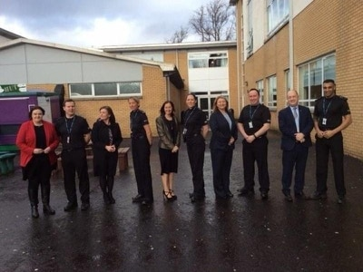 Attainment gap cash funding school police officers