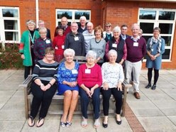 Severn Hospice volunteers mark milestones