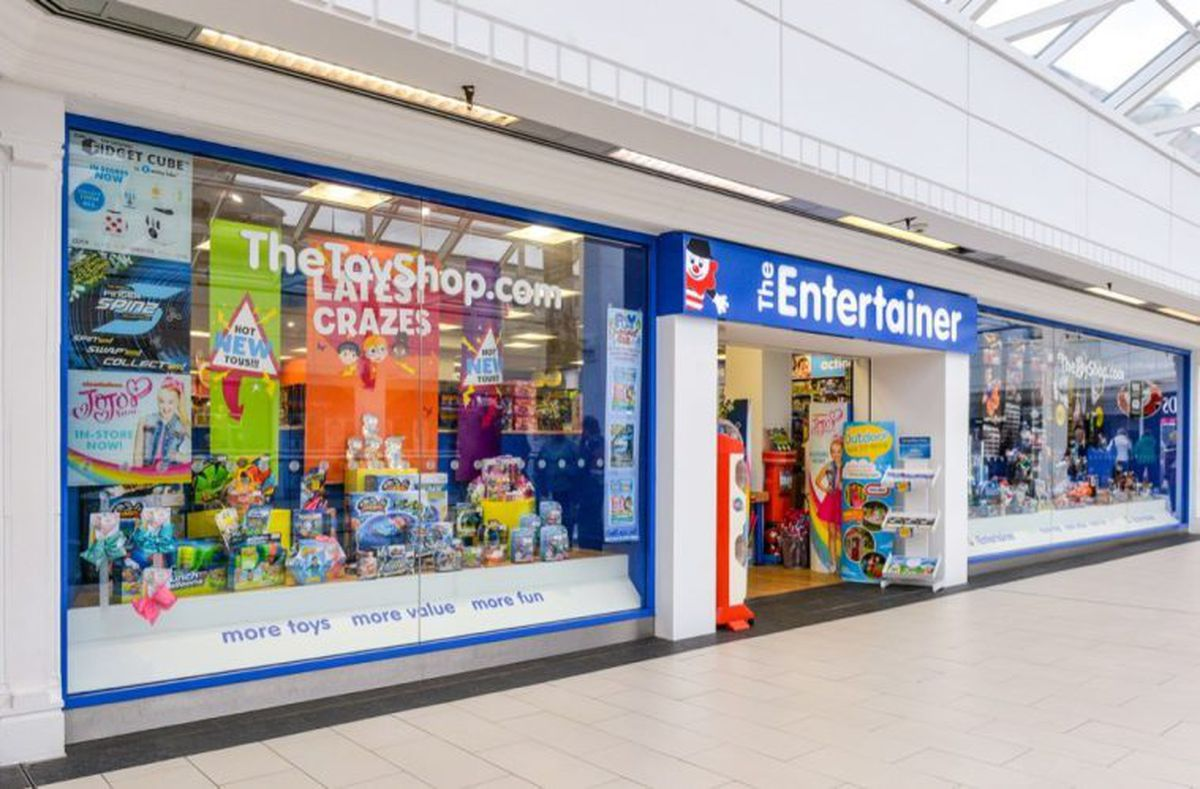The Entertainer is moving from the Pride Hill Centre to the Darwin Centre in Shrewsbury